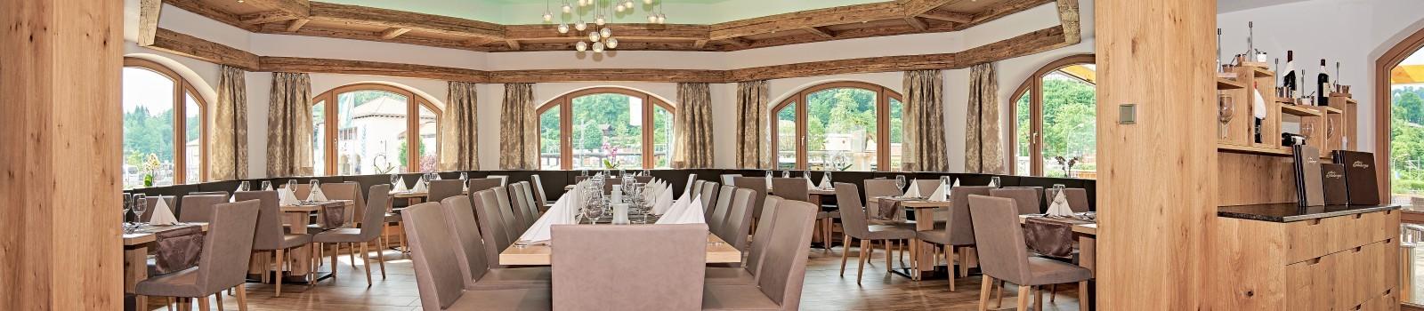 Restaurant im Hotel Grünberger