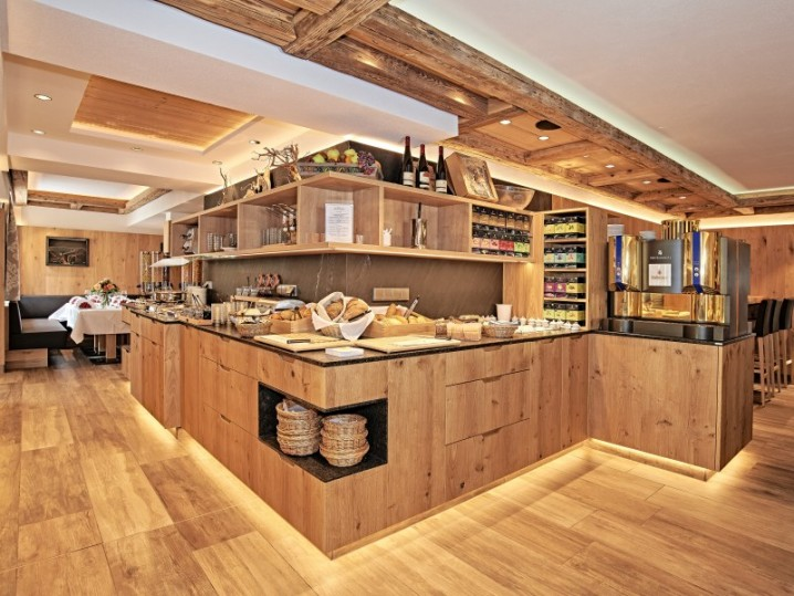 Frühstücksbuffet im Hotel Grünberger