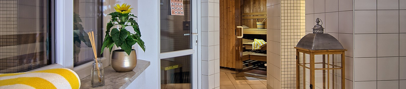 Sauna im Hotel Grünberger