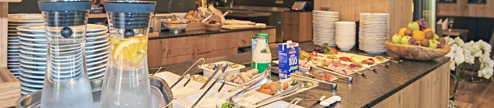 Frühstücken im Hotel Grünberger